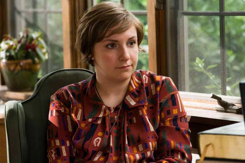 "Lena Dunham som Hannah Horvath i ""Girls""."