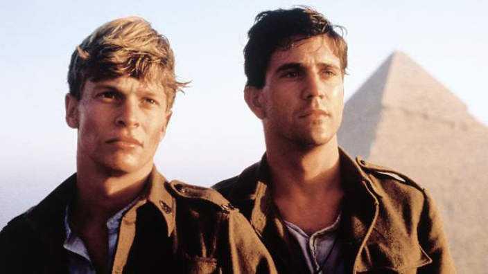 """Mark Lee och Mel Gibson i """"Gallipoli"""" (1981)."""