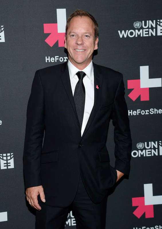 Kiefer Sutherland.