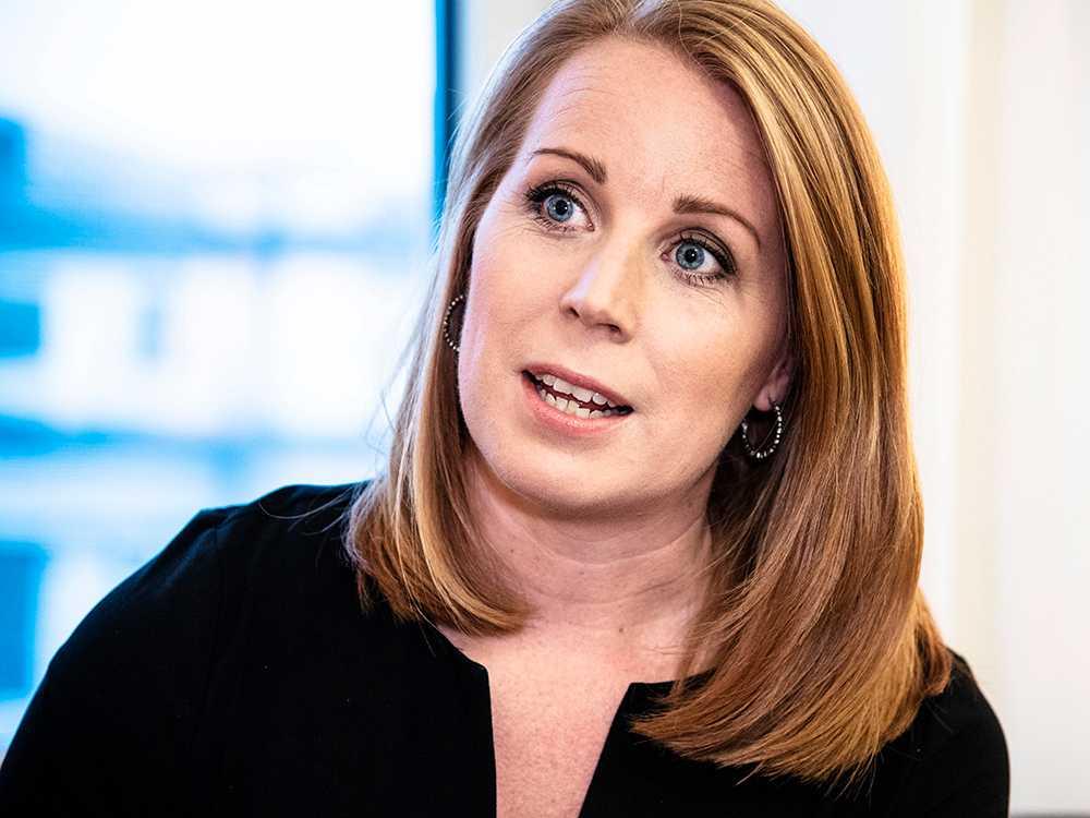 Annie Lööf: Centern kommer att rösta nej till Ulf Kristersson.