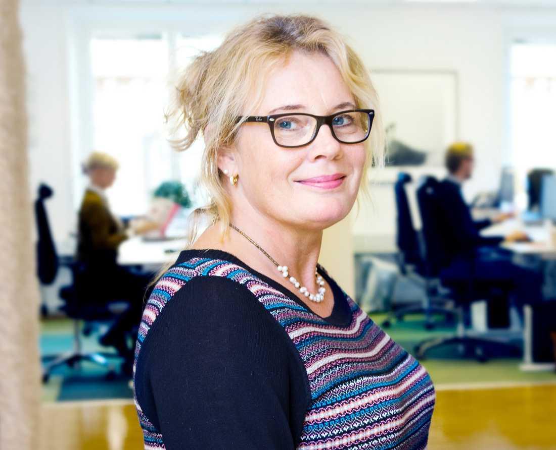 Anna Allerstrand, pensionsexpert på PTK.