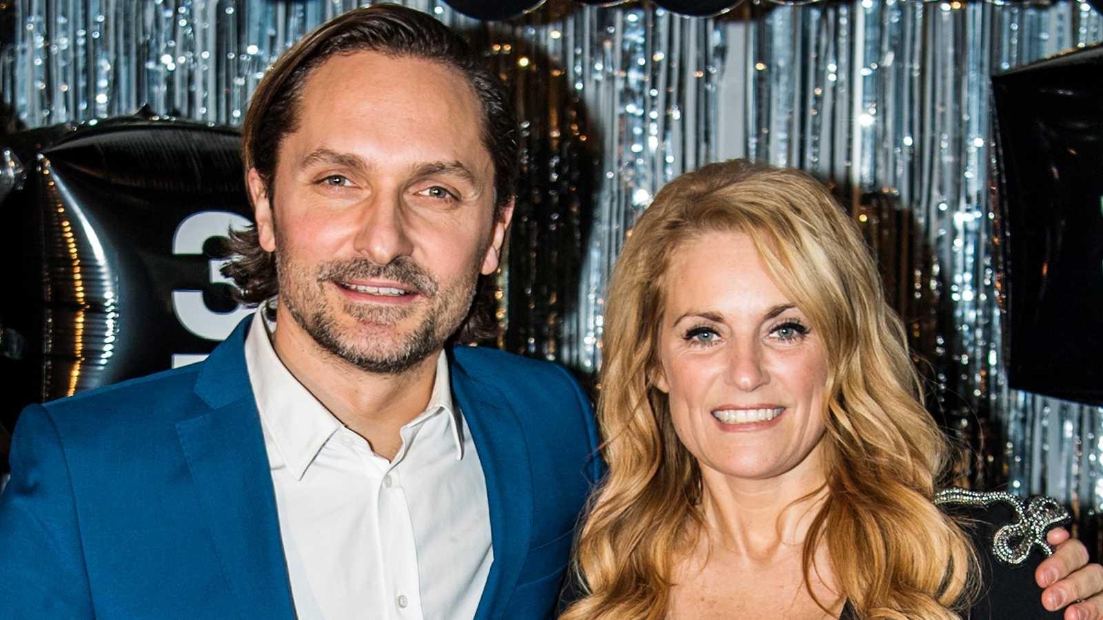 Roger Nordin och Laila Bagge.
