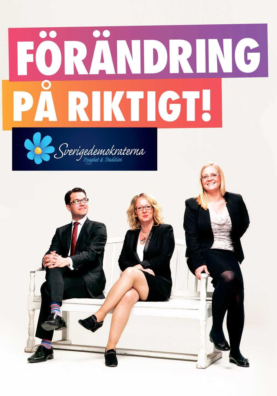 """+++ (3 plus) Henrik Torehammar: Väldigt fina färger – som en riktig Prideregnbåge! Men på en sån vit, blond bakgrund. Är så ohämmat moderatflörtande att dom snor deras """"mindre här, mer där""""-slogans från EU-valet."""