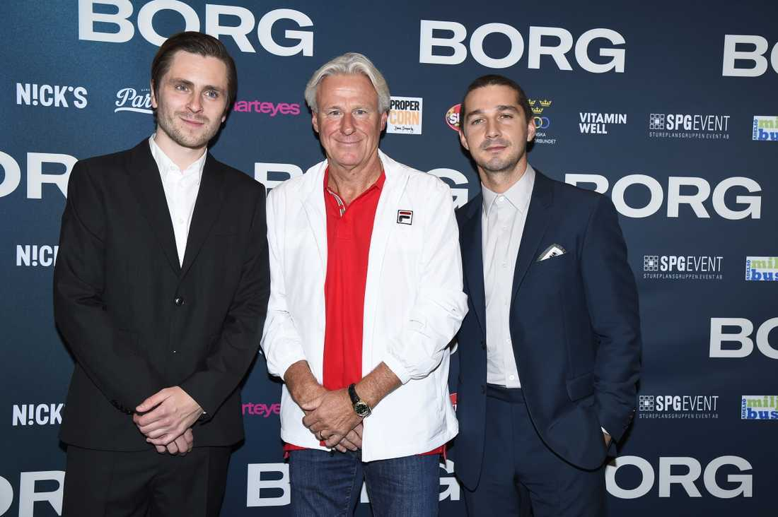 39444074bf4 Björn Borg på galapremiär inför filmen Borg | Aftonbladet