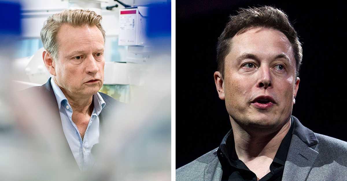 Elon Musk testade positivt och negativt på samma dag