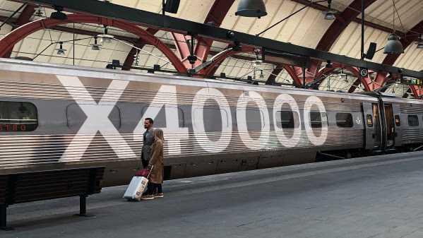 Specialmärkningens syfte är att uppmärksamma miljövinsterna med tåget.