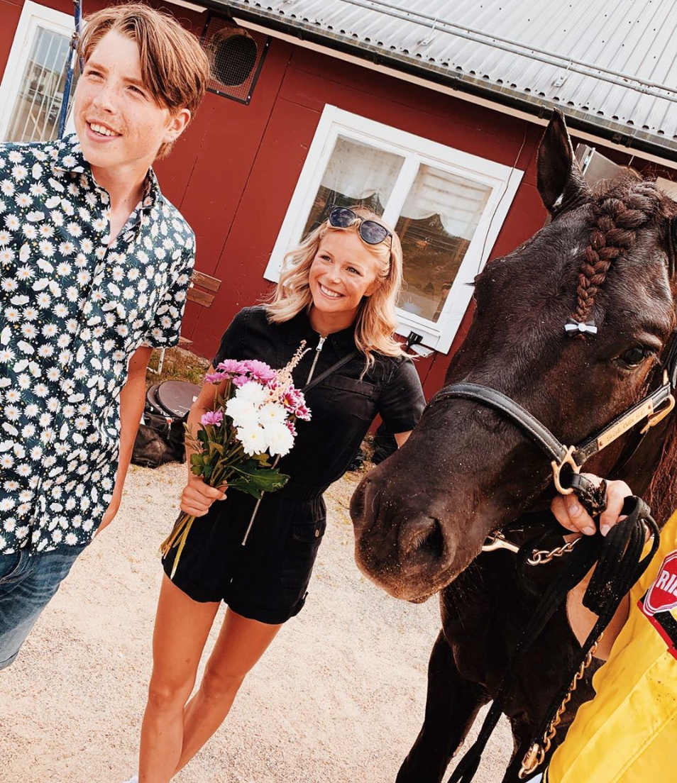 Frida Karlsson har blivit hästägare till framgångsrike Grisle Odin G.L.
