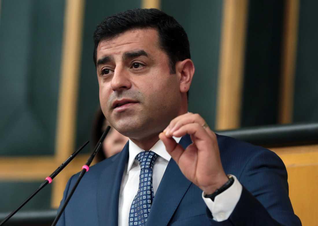 Selahattin Demirtas dömdes på tisdagen till fem månaders fängelse.
