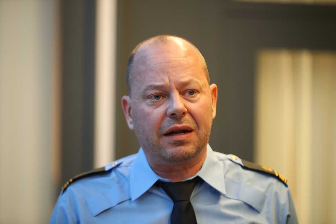 Utredningsledare Stefan Svensson.