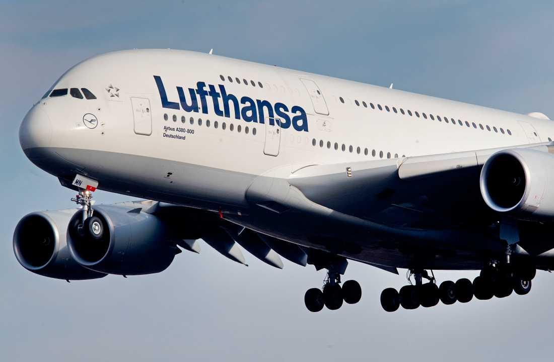 Lufthansaflyg.