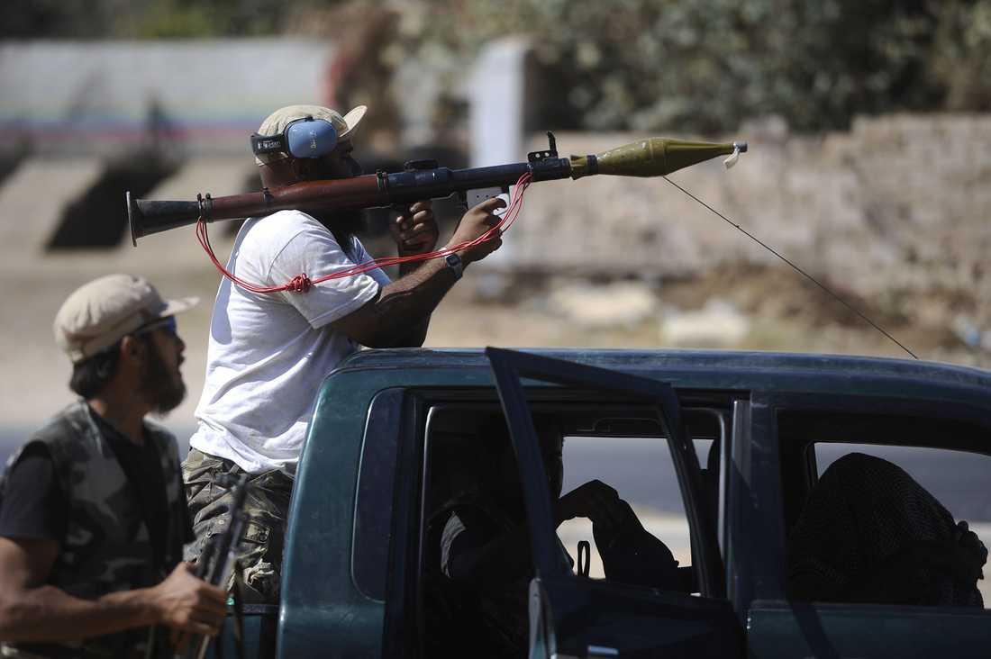 Strider några mil utanför Tripoli.