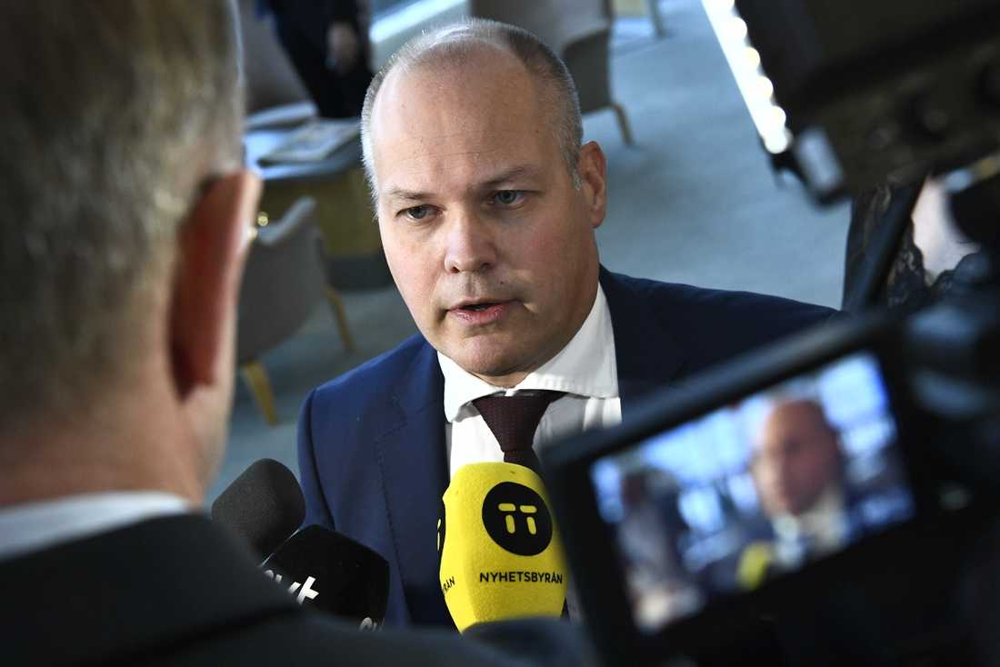 Justitieminister Morgan Johansson (S) tar inte ut någon seger i förskott inför fredagens misstroendeomröstning.