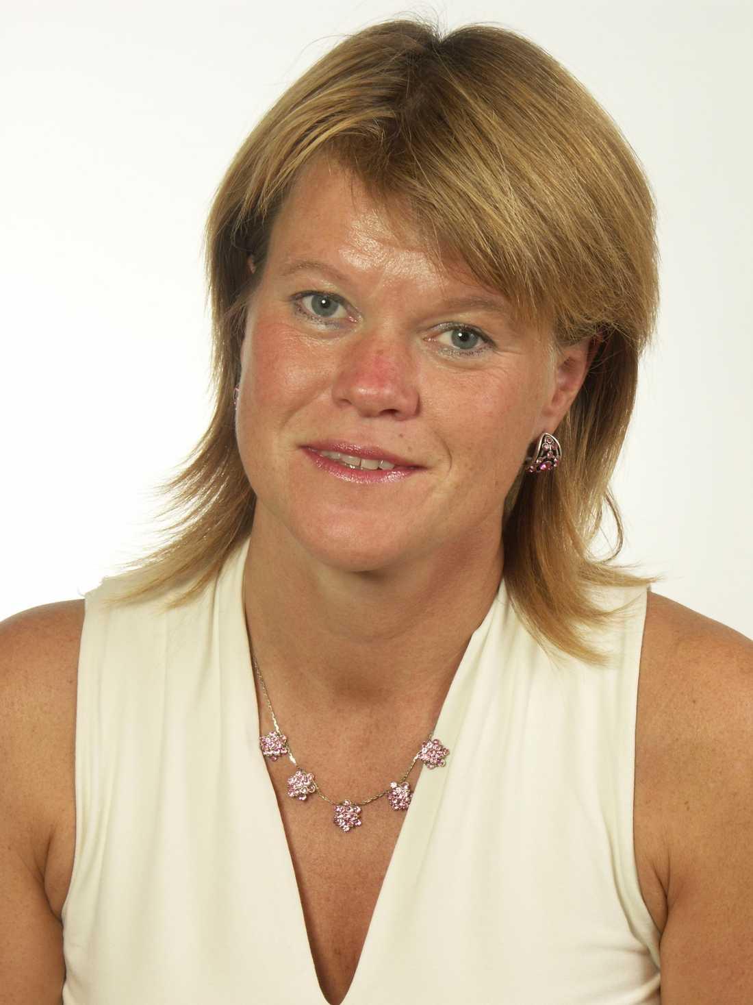Ulla Andersson (V), ekonomisk talesperson.