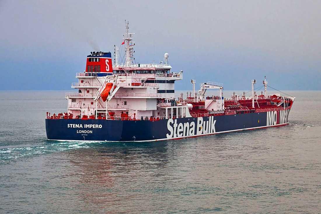 Stena Impero, ägt av det svenska rederiet Stena Bulk, har konfiskerats av Iran.