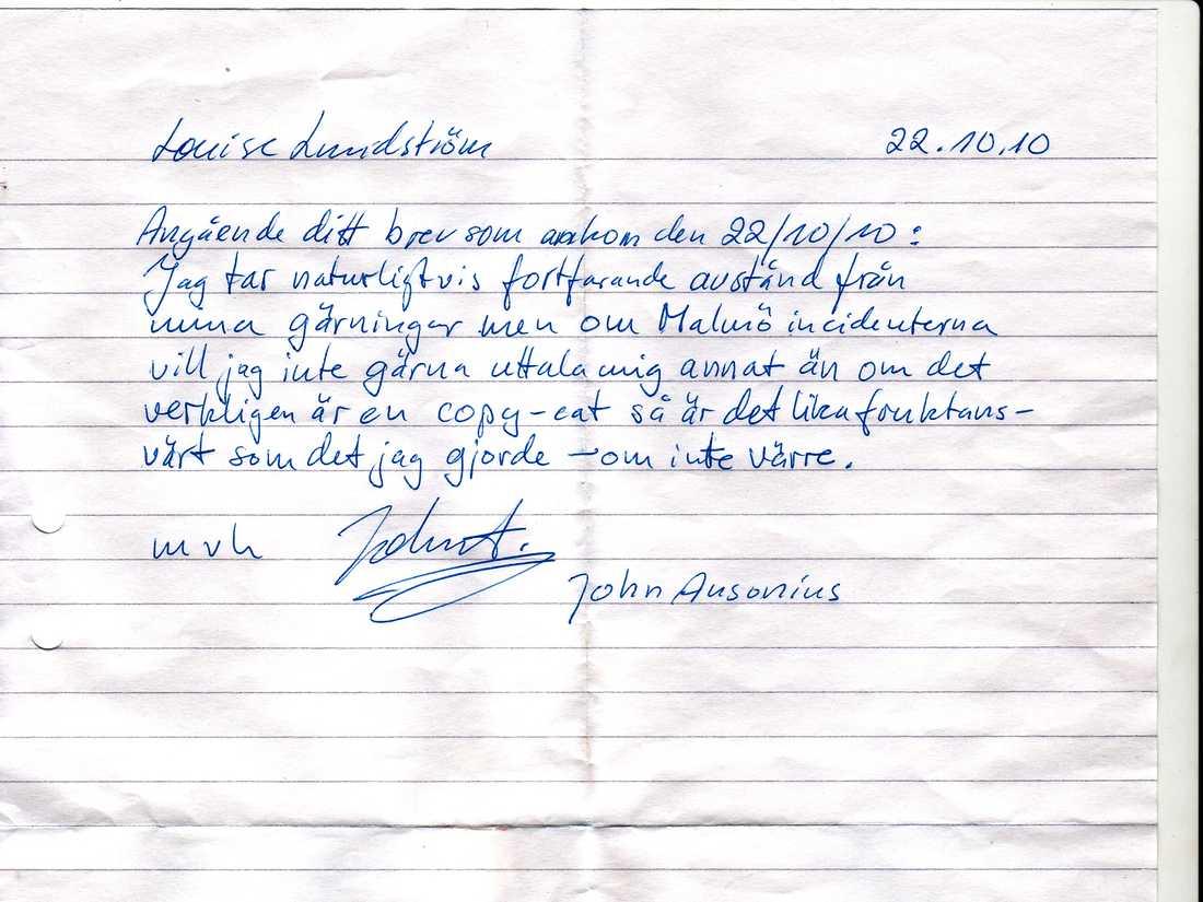 Lasermannens brev