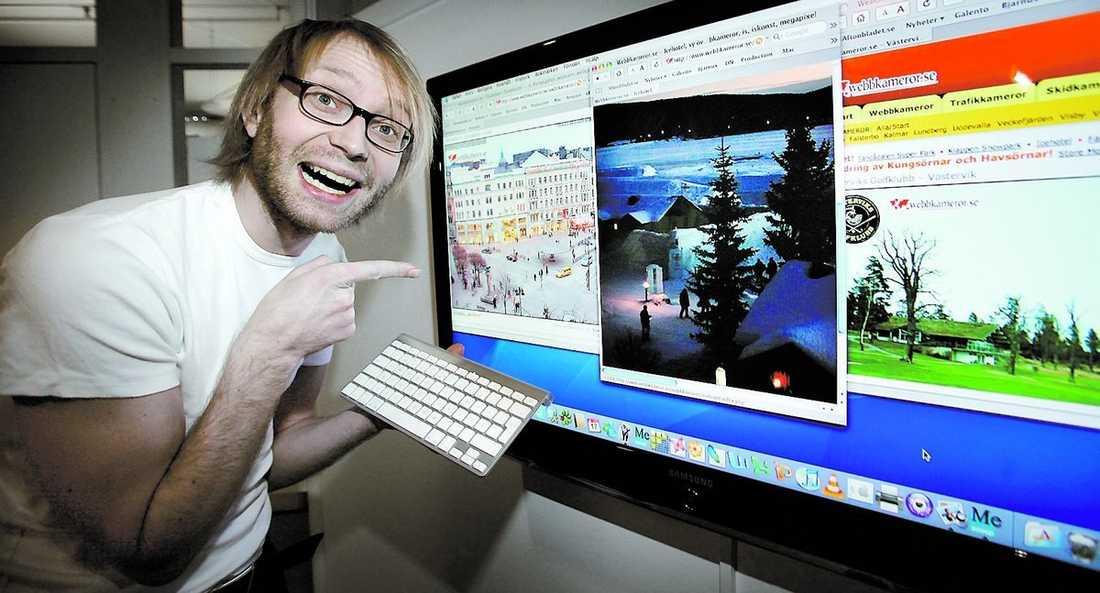 ONLINE Upptäck Sverige genom webbkameror. 300 platser ligger uppe – helt gratis.