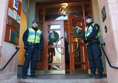 Polisen har skärpt bevakningen inför Lars Vilks besök i Lund.