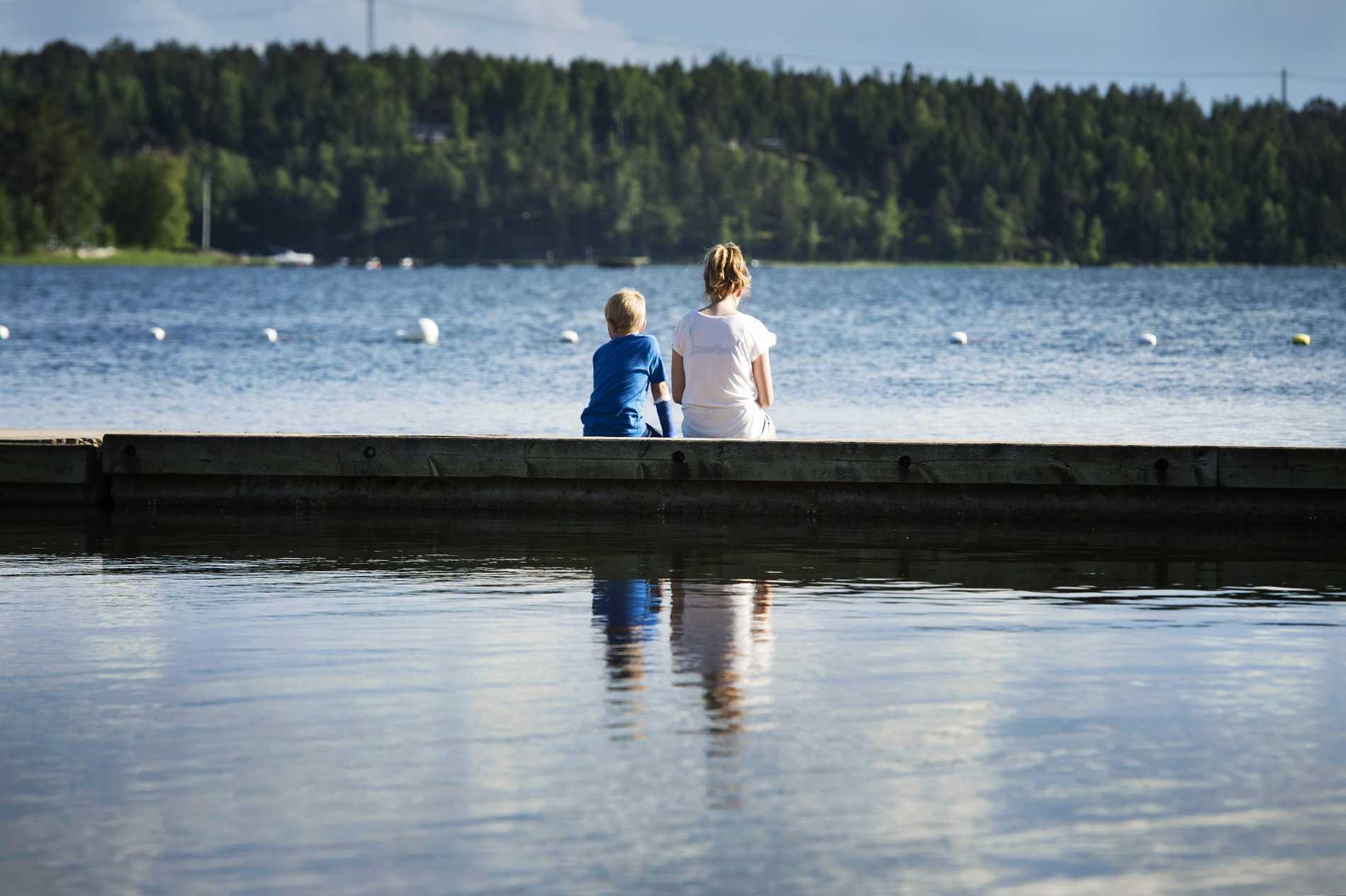 Värmdös mest populära strandbad är Grisslinge.