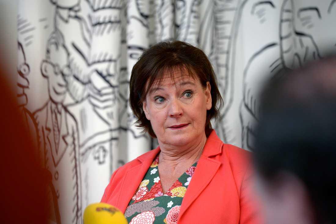 Kommunals avgående ordförande Annelie Nordström.