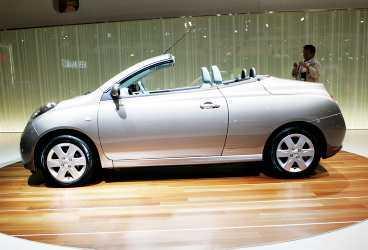 Nissan Micra CC Kommer: januari. Redan nu under vintern kan vi prova att åka Micra utan tak. Gör plåtcabben Micra till popbil igen?