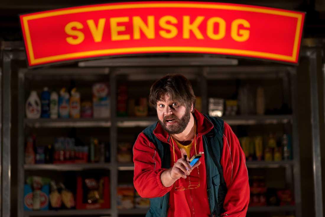 """Peter Jansson i """"Bygdens söner"""", en av de uppsättningar som ställts in på Östgötateatern. Pressbild."""