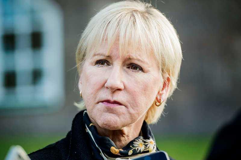 Utrikesminister Margot Wallström.