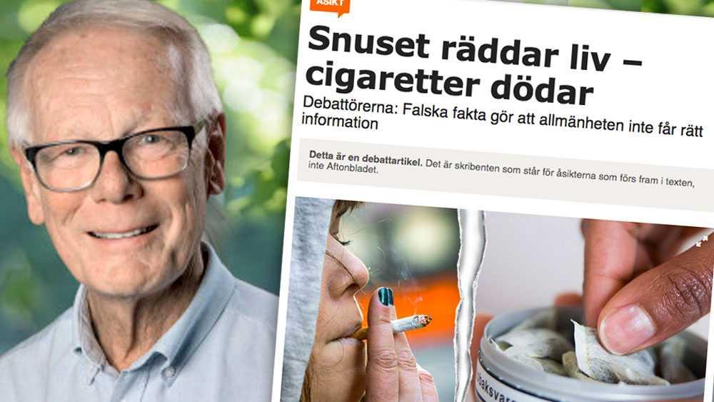 Vår strategi visar att vi fokuserar på rökningen – som den mest dödande tobaksformen. Den nya regeringen och riksdagen kommer snart att bli varse hur vi hanterar snus och andra tobaksprodukter, skriver Göran Boëthius.