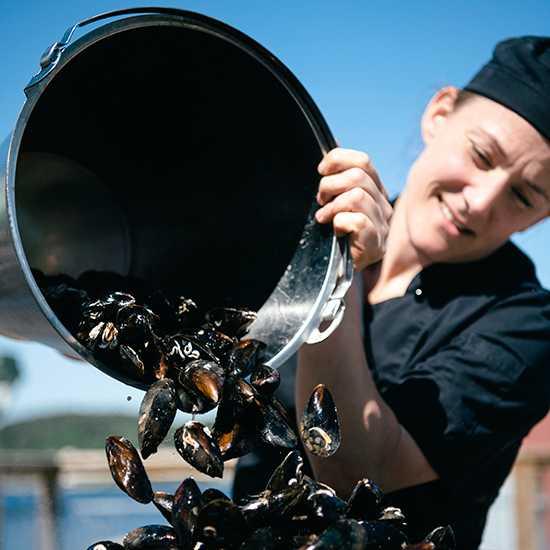 Musslor innehåller också mängder av nyttiga mineraler och fettsyror.