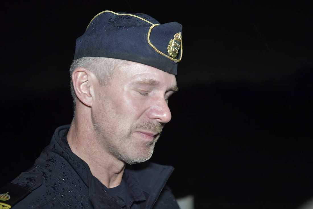 Christer Bartholdsson, 54, lokalpolisområdeschef  i Falkenberg.