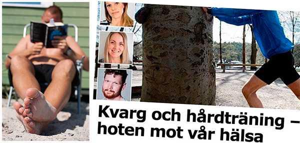 """Daniel Berglind & Jacob Gudiol: """"Det stora problemet i Sverige i dag är att människor både rör sig för lite och tränar för lite."""""""