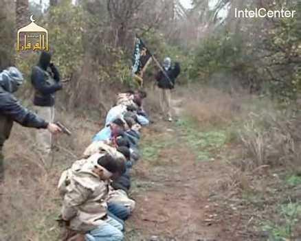 Videon visar hur de kidnappade soldaterna skjuts ihjäl med nackskott. Avrättningen uppges vara en hämnd för en våldtäkt, och en grupp med al-Qaidakoppling har tagit på sig dådet.