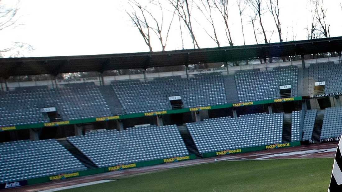 Här på Ceres Park i Århus ska läktarna fyllas med digitala åskådare när AGF gör omstart i danska ligan mot Randers. Arkivbild.