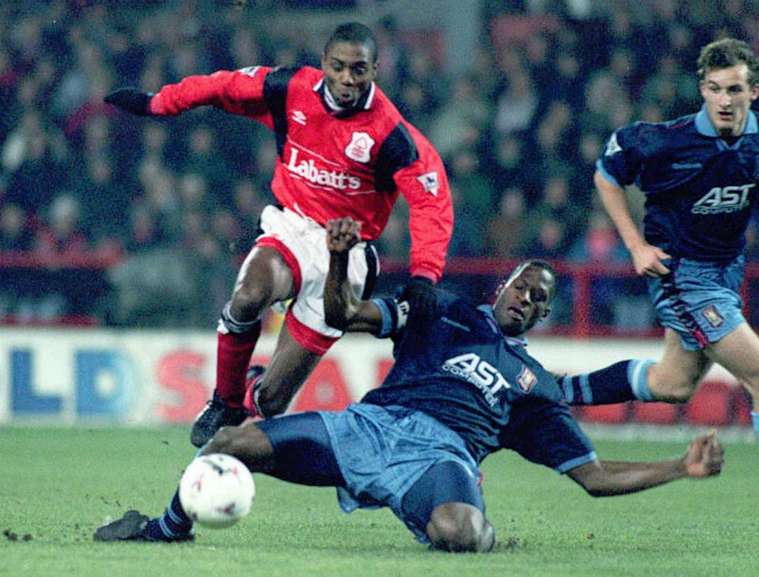 Bryan Roy under sin aktiva karriär, här i Nottingham 1996.