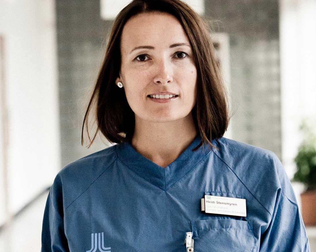 Läkarförbundets ordförande Heidi Stensmyren