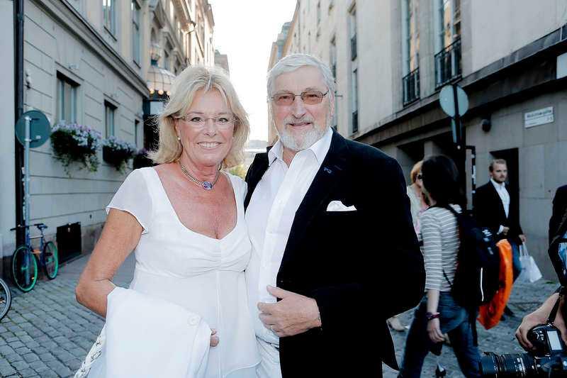 Birgitta och Magnus Härenstam under Vicky von der Lanckens 70-årsfirande 2012.