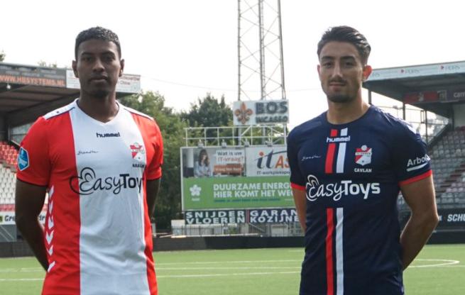 FC Emmens nya tröjsponsor Easytoys stoppas av nederländska förbundet.