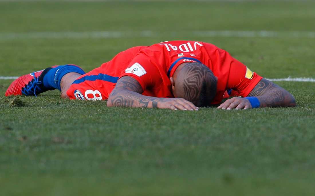 Chiles Arturo Vidal.