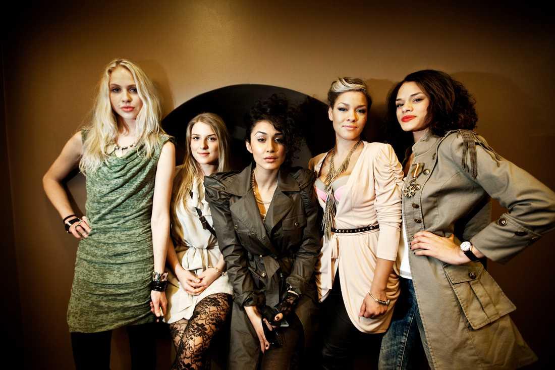 """När Mikaela Urbom var med i Melodifestivalen med gruppen """"Love Generation"""" 2011 mådde hon dåligt psykiskt."""