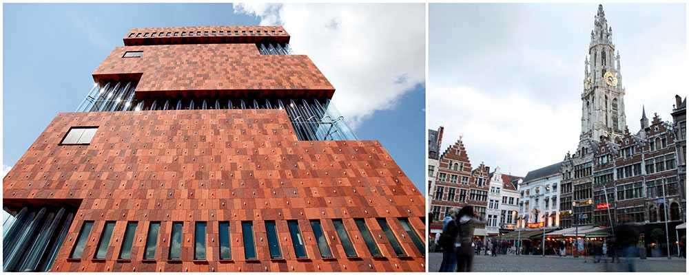 Museum Aan de Stroom, eller MAS som det kallas, är mycket sevärt. Likaså alla fina kvarter i Antwerpen som är fulla av butiker, mode och design.