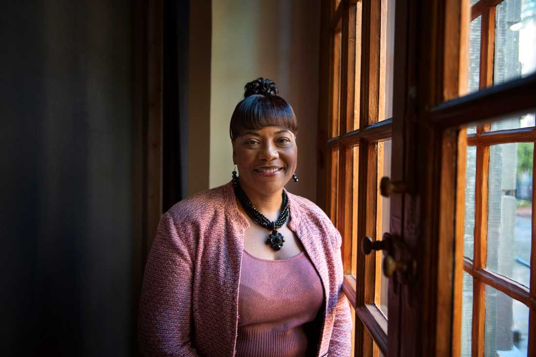 Bernice King är chef för The King Center i Atlanta i Georgia.