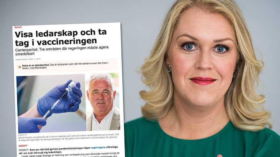 Får regeringen andra signaler från SKR eller berörda myndigheter är vi självklart redo att titta på nya åtgärder kring vaccineringen. Replik från Lena Hallengren.