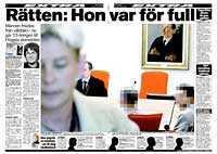 Aftonbladet 27 januari i år.