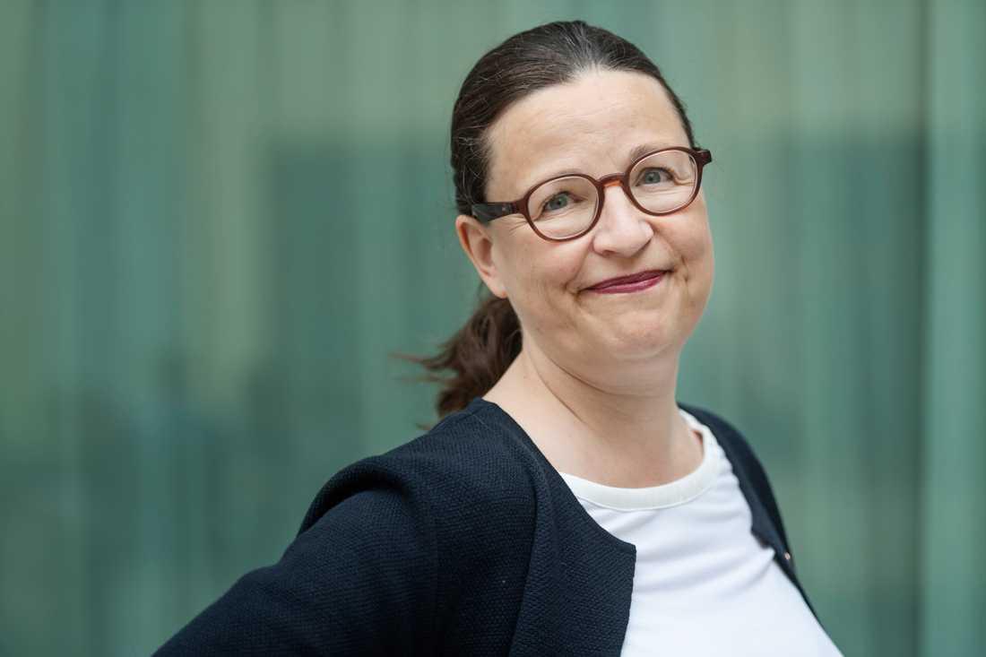 Utbildningsminister Anna Ekström vill satsa mer pengar på lärarassistenter. Arkivbild.