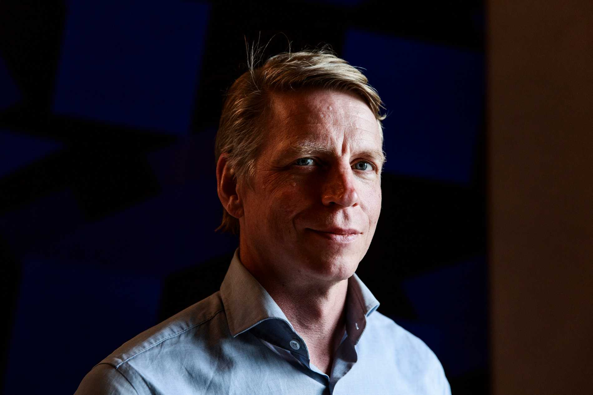 Miljöpartiets språkrör Per Bolund.