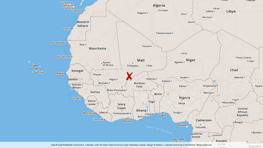 Moptiregionen i Mali.