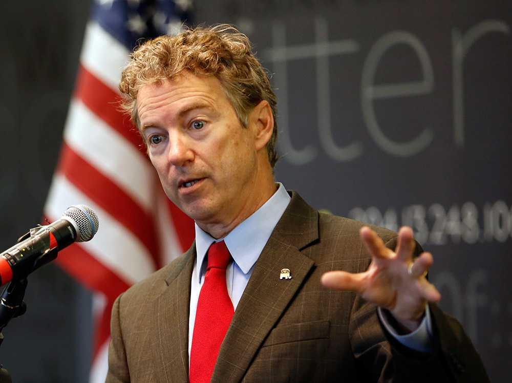 Rand Paul har upprepade gånger valts till Republikanernas favorit inför presidentvalet 2016 på den årliga konservativa CPAC-konferensen.