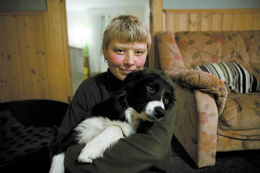 NORMAL – UTÅT Susanne Johansson har aldrig haft några problem med att hon är dubbelbyggd med fyra njurar, två livmödrar och fyra äggledare. Hon känner sig precis som alla andra.