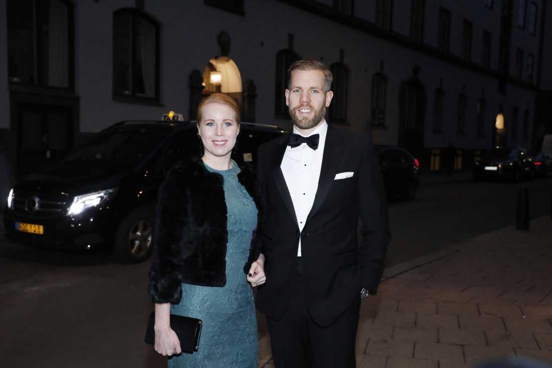 Annie Lööf och Carl-Johan Lööf.