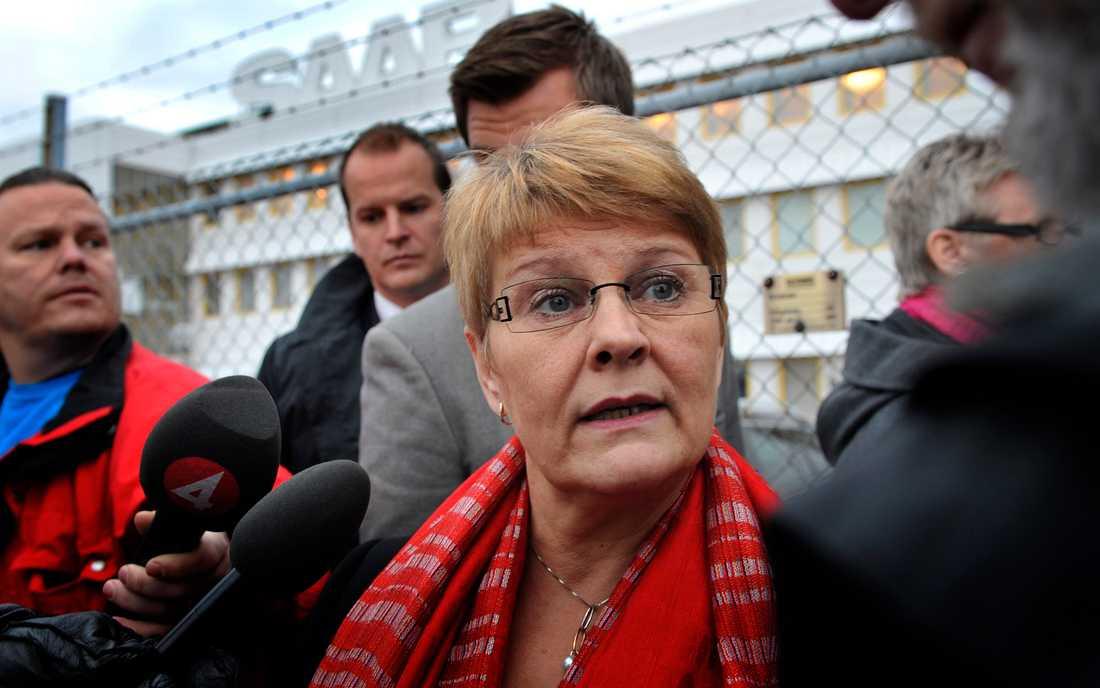 Maud Olofsson har än inga kommentarer till budet.