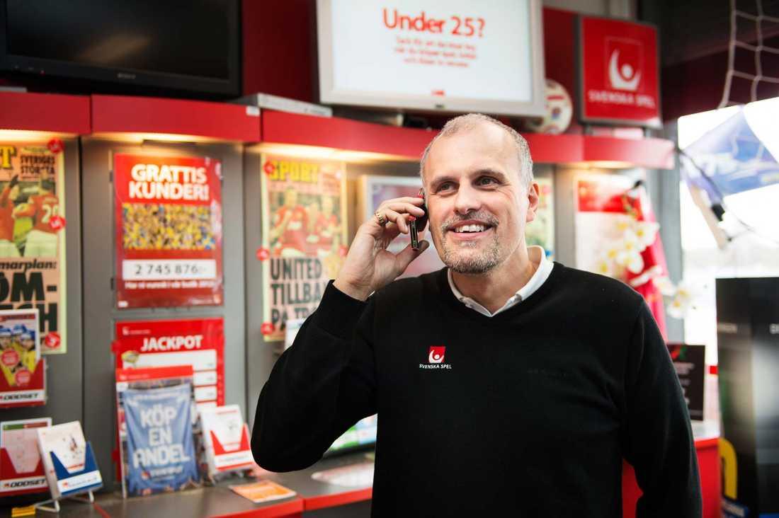 Svenska Spels vinnarambassadör Pierre Jonsson har pratat med Drömvinnaren.